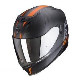 Scorpion EXO-520 Air Laten - Matt Schwarz / Orange