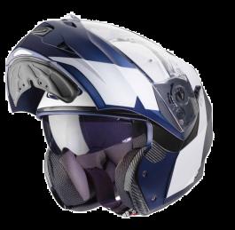Caberg Duke Impact - Weiß / Blau