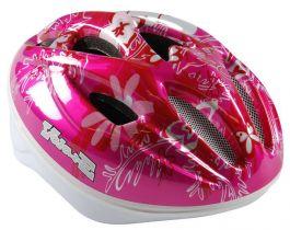 Volare Fahrradhelm Deluxe Schmetterling - Rosa
