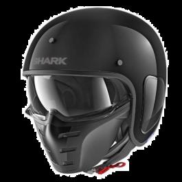 Shark Jethelm S-Drak Blank - Schwarz