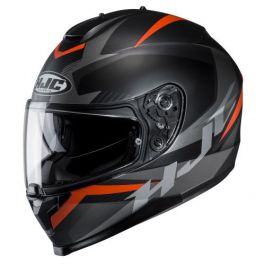 HJC C70 Troky - Schwarz / Orange
