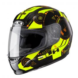 HJC CL-Y Simitic Kinderhelm - Fluor Gelb