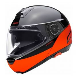 Schuberth C4 Pro Swipe - Orange / Schwarz