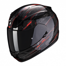 Scorpion EXO 390 Beat - Schwarz / Neon Rot