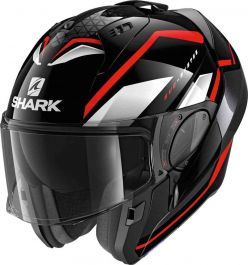 Shark Evo ES Yari - Schwarz / Rot / Weiß