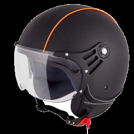 Vinz Laghi - Schwarz / Orange (Leder)
