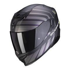 Scorpion EXO-520 Air Shade - Mat Zwart / Neon Geel