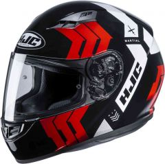 HJC CS-15 Martial - Zwart / Rood