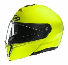 HJC I90 Solid - Fluor Geel