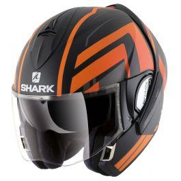 Shark Evoline 3 Corvus Matt Schwarz / Orange