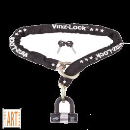 Vinz Kungur ART 3 Rollerschloss - 200 cm (Passt durch Speichenrad)