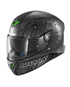 Shark Skwal 2 Integraalhelm - Switch Rider 2 / Zwart / Antraciet / Zilver