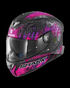 Shark Skwal 2 Integraalhelm - Switch Rider 2 / Zwart / Violet