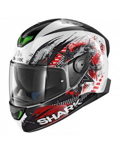 Shark Skwal 2 Switch Rider 1 - Zwart / Wit / Rood