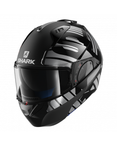 Shark Evo-One 2 Lithion Dual - Zwart / Chrome / Antraciet