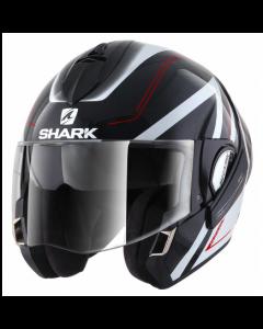 Shark Evoline 3 Hyrium - Zwart / Wit / Rood 1