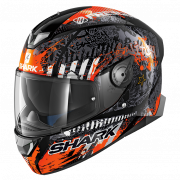 Shark Skwal 2 Switch Rider 2 - Zwart / Wit / Oranje