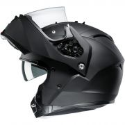 HJC Systeemhelm IS-Max II met Zonnevizier - Mat Zwart