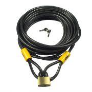 Kabelslot  Vinz 10 meter + Hangslot